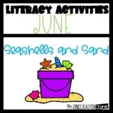 Literacy Center Activities for June-Morning Bins