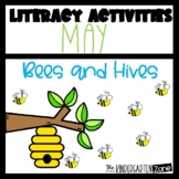 Literacy Center Activities for May-Morning Bins