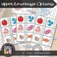 Literacy Center, Alphabet Clipcards, Beginning Sounds, Pre-K, Kindergarten