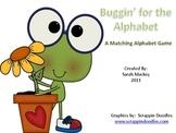 Literacy Center:  Alphabet Matching Game