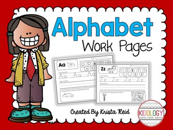 Alphabet Activities and Printables