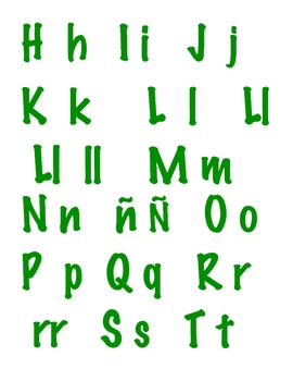 Literacy Center: Alphabet Soup