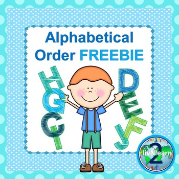 Literacy Center Alphabetical Sort FREEBIE
