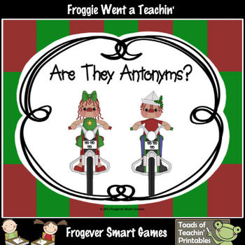 Literacy Center--Are They Antonyms?