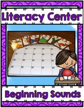 Literacy Center ~ Beginning Sounds