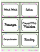 Literacy Center Bin Labels