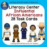 Literacy Center Influential African Americans 28 Task Cards