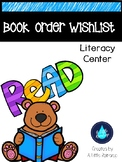 Literacy Center - Book Order Wishlist