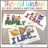 Seasonal Writing Center Booklet Covers with Lined Pages