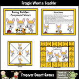 """Easter--Compound Words """"Bunny Builders"""""""