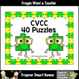 CVCC Word Puzzles (40 two piece puzzles)