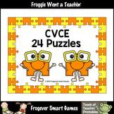 CVCE Word Puzzles (24 two piece puzzles)