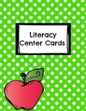 Literacy Center Card