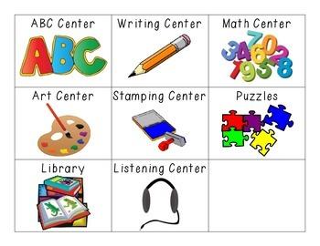 Literacy Center Cards