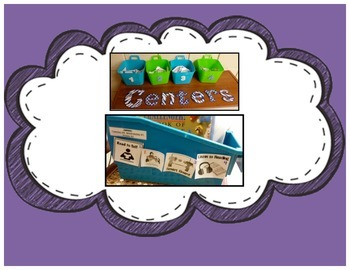 Literacy Center Cards (Student Choice)