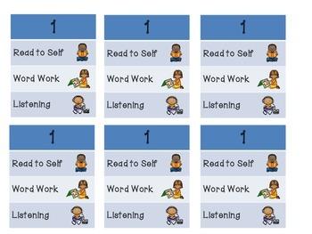 Literacy Center Choice Set