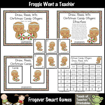Short Vowels--Christmas Candy Gingers Short /a/ Words