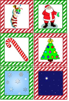 Literacy Center - Christmas Riddles - Easy