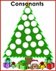 Literacy Center Circle Activity - Christmas Tree Letter Sort