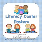 Literacy Center Classroom Wall Posters