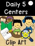 Literacy Center Clip Art