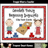 Literacy Center--Cornhole Frenzy Beginning Digraphs