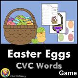 Easter Egg Words - CVC Words