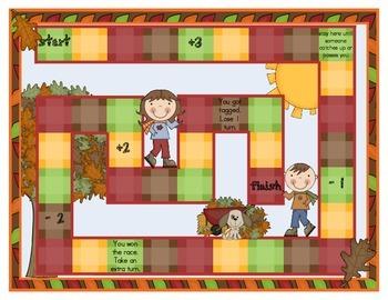 Fall Kids' Sensible Sentences Treasures Reading Series Literacy Center