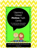 Literacy Center Fiction Task Cards