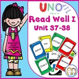 READ WELL 1 Uno-like Fluency Game Unit 37-38 with 76 Pattern and Tricky Words
