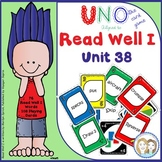 READ WELL 1 Uno-like Fluency Game Unit 38 with 76 Pattern and Tricky Words
