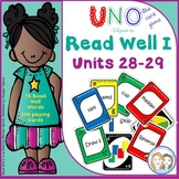 Read Well 1 Uno Game Aligned to Read Well 1 Units 28-29