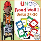 Read Well 1 Uno Game to Aligned to Read Well 1 Units 29-30