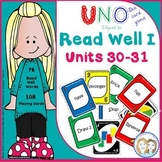 Read Well 1 Uno Game to Develop Fluency for Read Well 1 Units 30 and 31