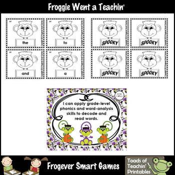 Literacy Center--Franken Monkey (220 Dolch Words)