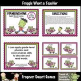 Literacy Center--Frankenswine Sight Word Game (Third 100 Fry Words)