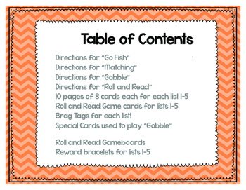 Sight Word Games - Literacy Center-Fall Themed