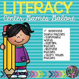 Literacy Center Games Galore