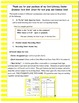 Literacy Center Grammar Card Game and Recording Sheet:  To Be Verb Scoot