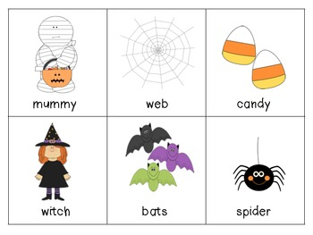 Literacy Center: Halloween ABC Order