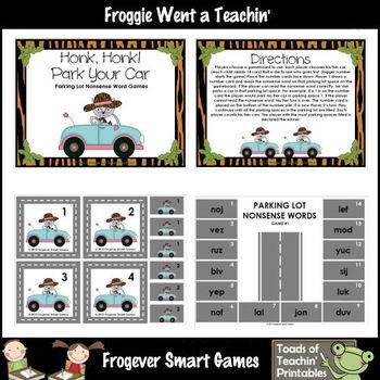Nonsense Words--Honk, Honk! Park Your Car