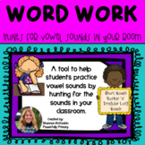 Literacy Center | Word Hunts for Vowel Sounds