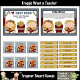 "Literacy Center -- I Love Fast Food French ""Fry"" Phrases (level 1 words)"