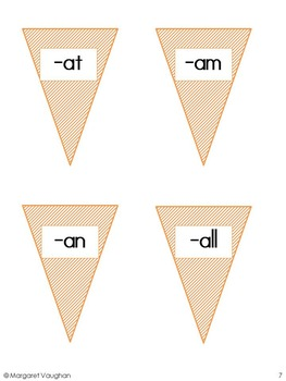 Literacy Center - Ice Cream Word Families