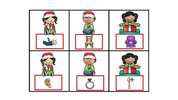 Literacy Center Idea Compound Words With Pictures Grades K and 1