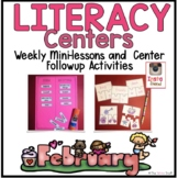 Literacy Center Ideas for February
