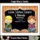 Literacy Center--Just Clip n' Learn S Blends/Bonus S Blend