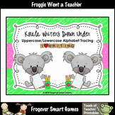 Alphabet--Koala Writers Down Under Alphabet Tracing Cards
