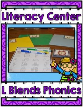Literacy Center ~ L Blends