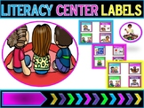 Literacy Center Labels  (Pocket Chart)